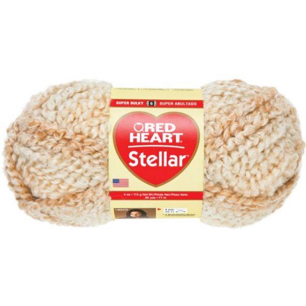 Red Heart Stellar Yarn - Star