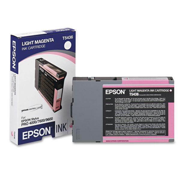 Epson T5436 Light Magenta Ink Cartridge