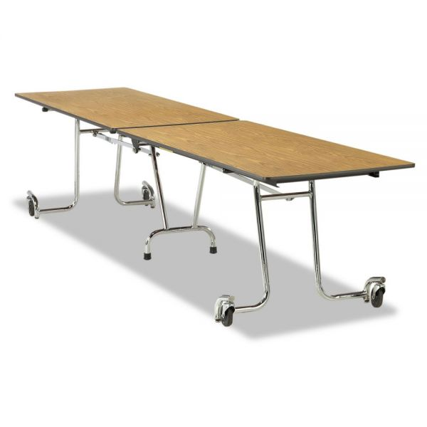 Virco Mobile Rectangular Folding Table