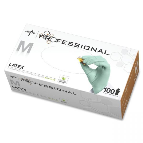 Medline Professional Latex Exam Gloves