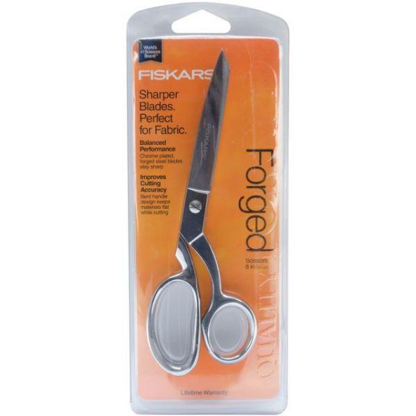 "Forged Razor-Edged Bent Scissors 8"""
