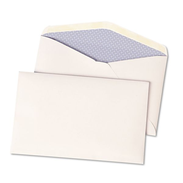 Quality Park Expandable Security Envelope, One inch, 6 x 9 1/2, White, 500/Box