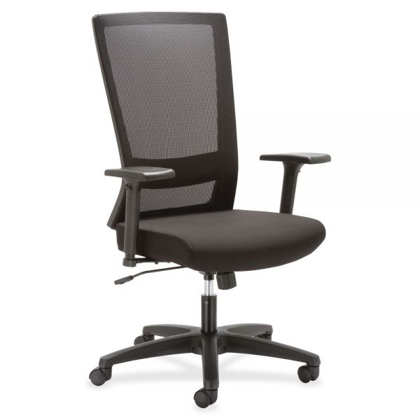 Lorell Mesh High-back Swivel Office Chair