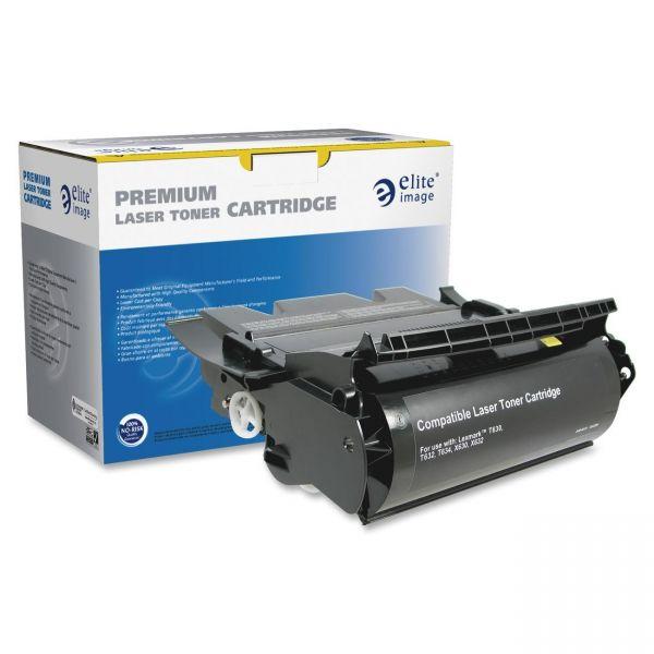 Elite Image Remanufactured Toner Cartridge - Alternative for Lexmark (12A7462)
