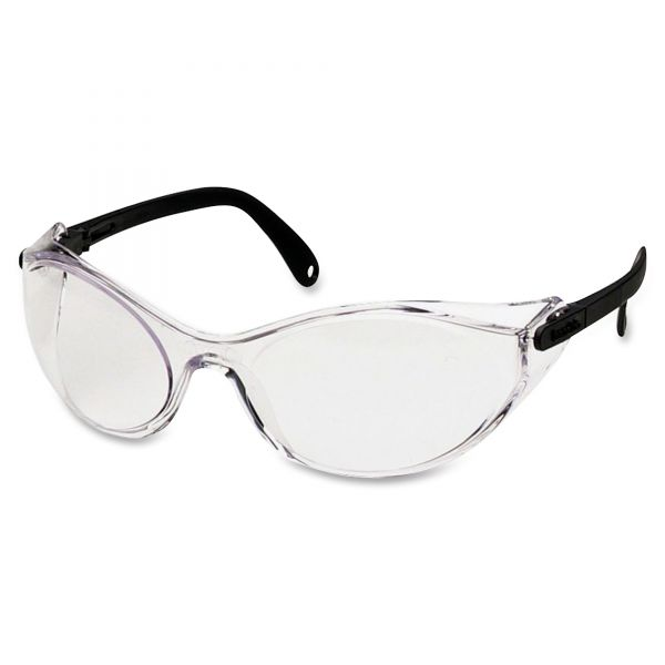 Uvex by Honeywell Bandido Safety Eyewear, Frameless, Clear Lens, Nylon/Polycarbonate