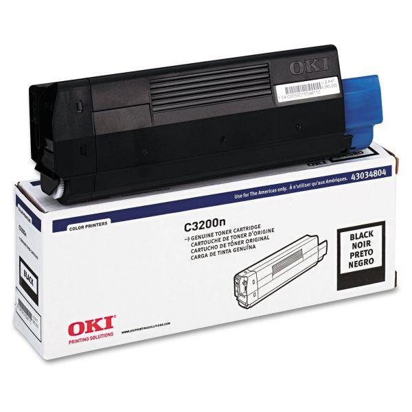 Oki 43034804 Black Toner Cartridge