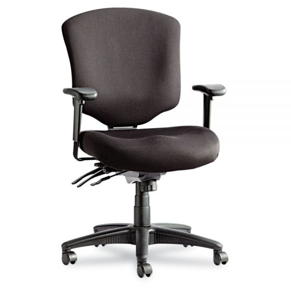 Alera Wrigley Pro Series Mid-Back Multifunction Office Chair w/Seat Glide