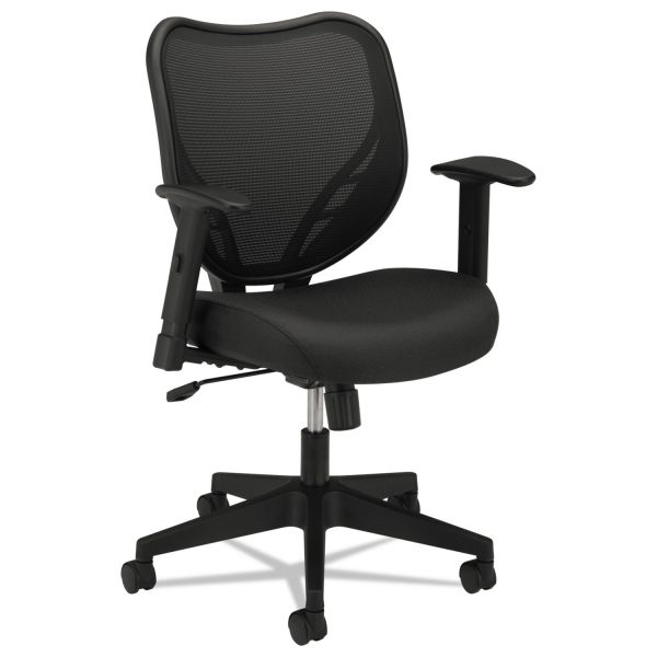 basyx by HON HVL551 Mid-Back Mesh Office Chair