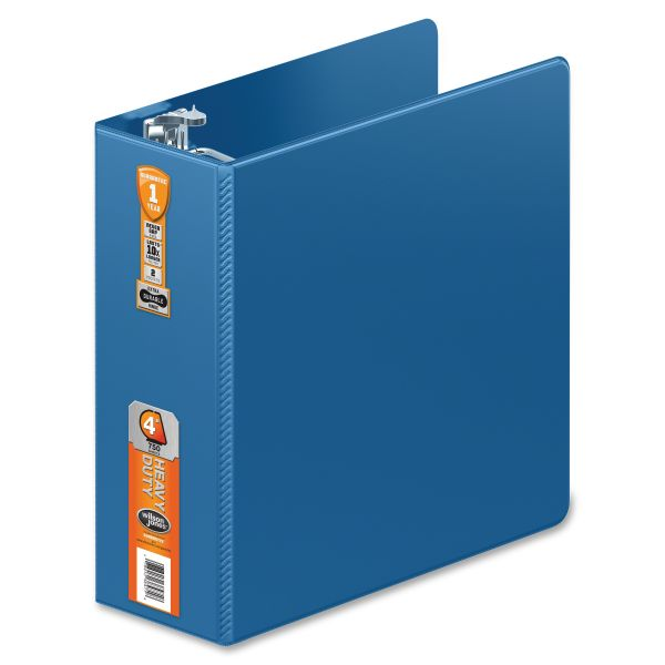 "Wilson Jones Heavy-Duty 4"" 3-Ring Binder"
