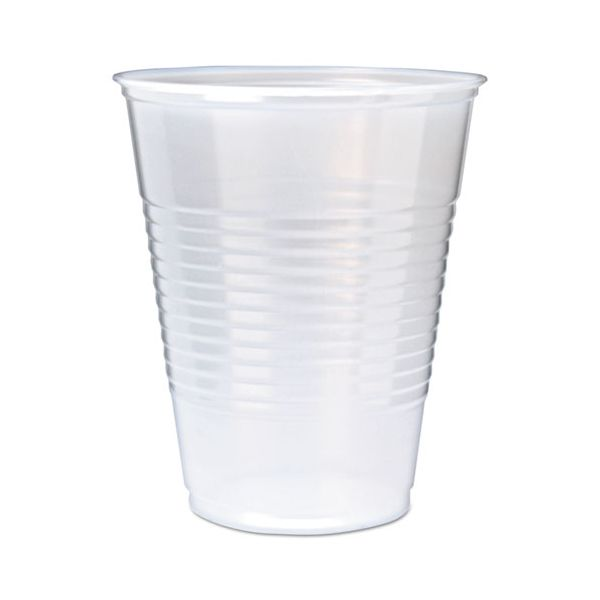 Fabri-Kal RK Ribbed 9 oz Plastic Cold Cups