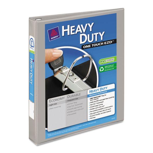 "Avery Heavy-Duty 1"" 3-Ring View Binder"