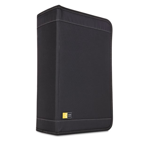 Case Logic CD/DVD Wallet, Holds 136 Discs, Black