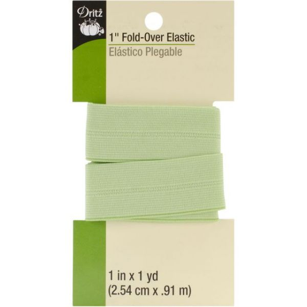 "Fold-Over Elastic 1""X1yd"