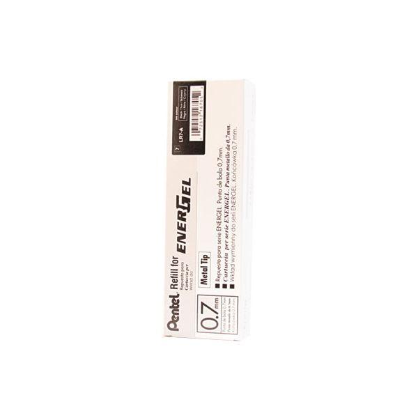 Pentel Refill for Pentel EnerGel Retractable Liquid Gel Pens, Medium, Black Ink