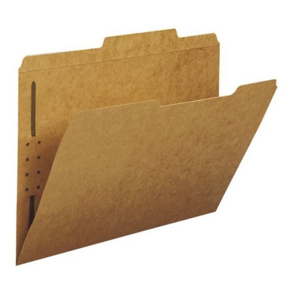 Smead Kraft File Folders With Fasteners