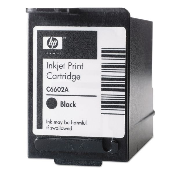 HP C6602A Black Inkjet Print Cartridge
