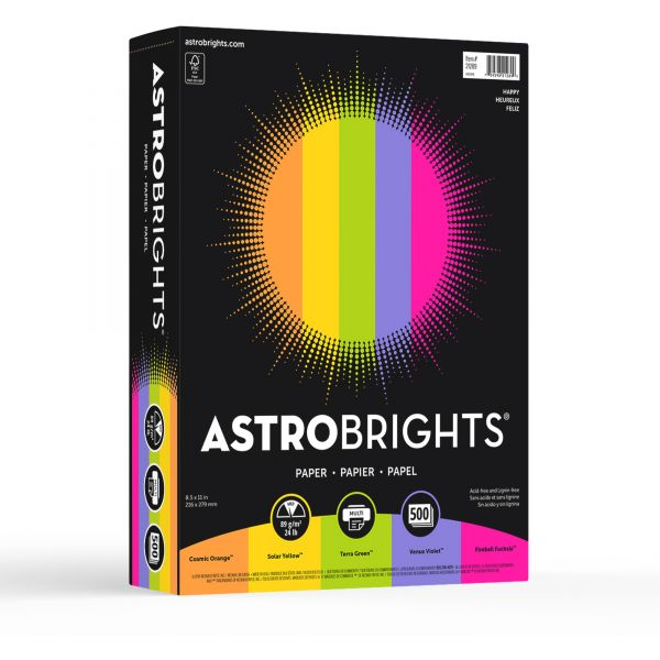 Astrobrights Colored Paper