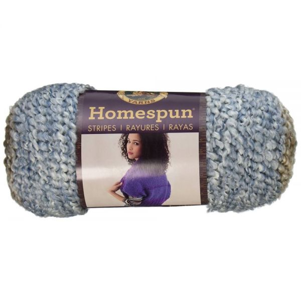 Lion Brand Homespun Yarn - Beachside Stripes