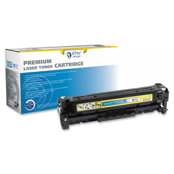 Elite Image Remanufactured Toner Cartridge - Alternative for HP - Yellow