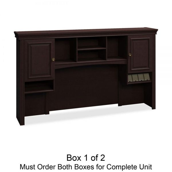 bbf Syndicate Tall Hutch Box 1 of 2 by Bush Furniture