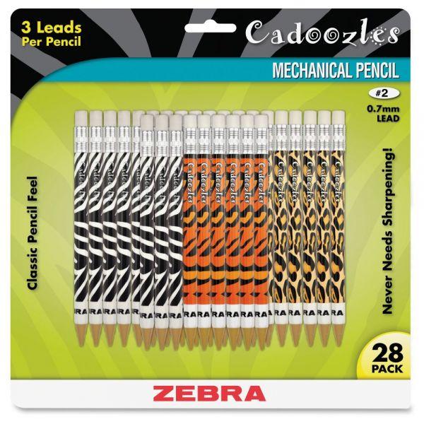Zebra Cadoozles 0.7 Mechanical Pencils
