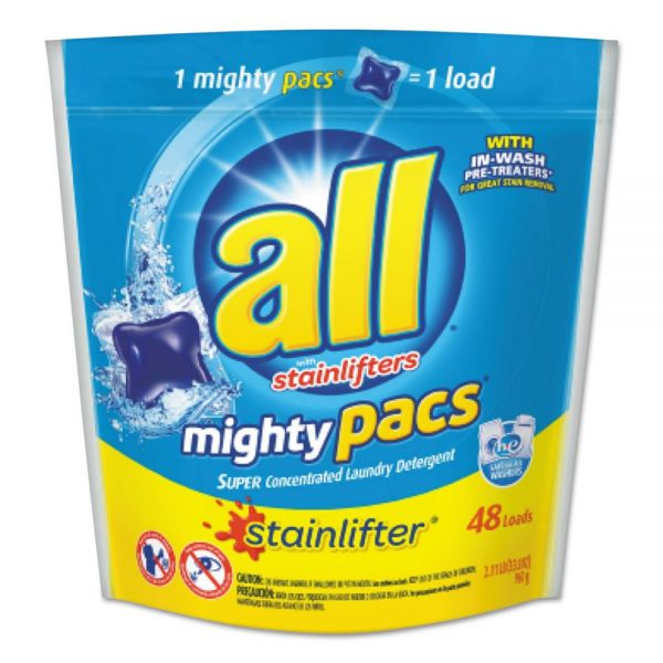 All Super Concentrated Laundry Detergent Mighty Pacs
