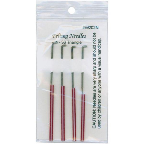 Felting Needles 4/Pkg