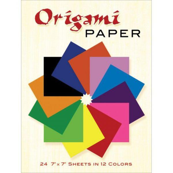 """Origami Paper 7""""X7"""" 24/Pkg"""