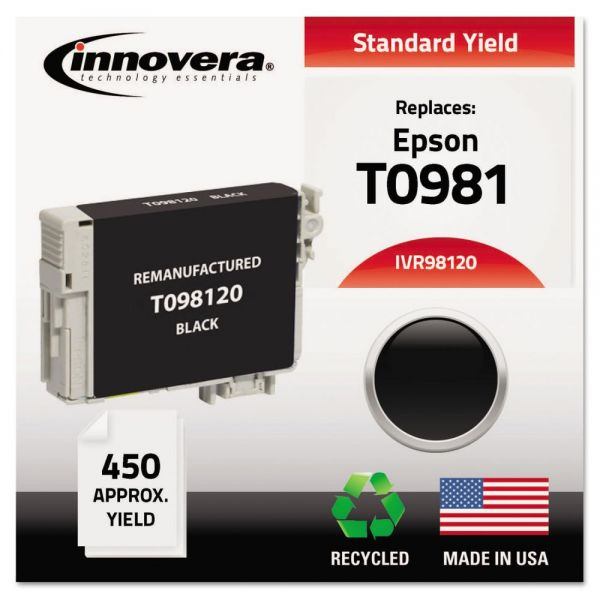 Innovera Remanufactured Epson T0981 Ink Cartridge