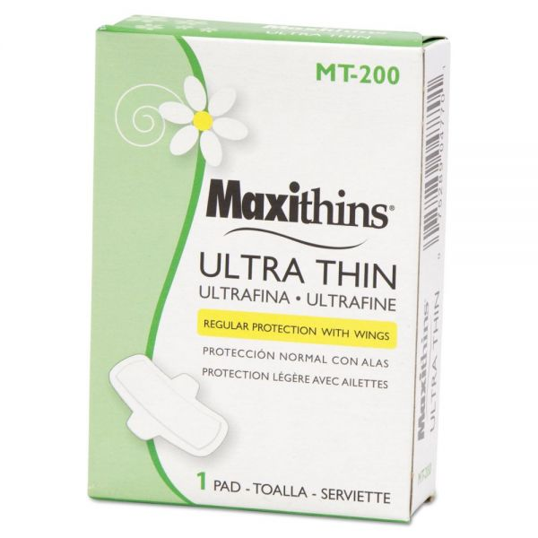 Hospital Specialty Co. Maxithins Ultra-Thin Pads, 200/Carton