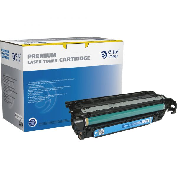 Elite Image Remanufactured HP 507A Cyan Toner Cartridge