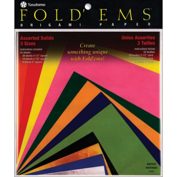 Fold 'Ems Origami Paper