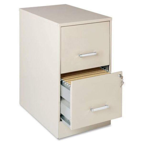 Lorell Home Office 2 Drawer Vertical File Cabinet