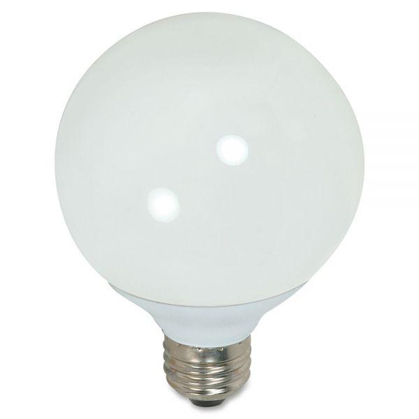 Satco 15-watt G25 CFL Bulb