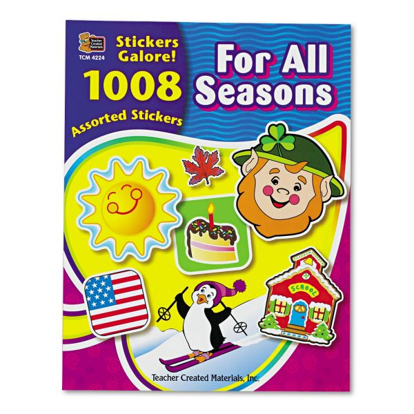 Teacher Created Resources For All Seasons Sticker Book