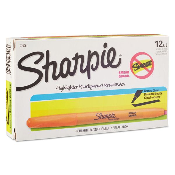 Sharpie Accent Highlighters w/Smear Guard