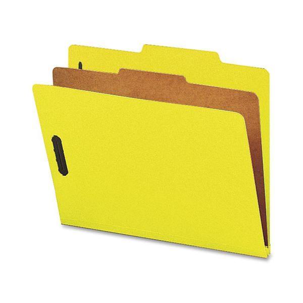 Nature Saver Yellow Classification Folders