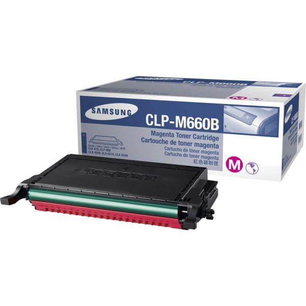 Samsung CLP-M660B Magenta Toner Cartridge