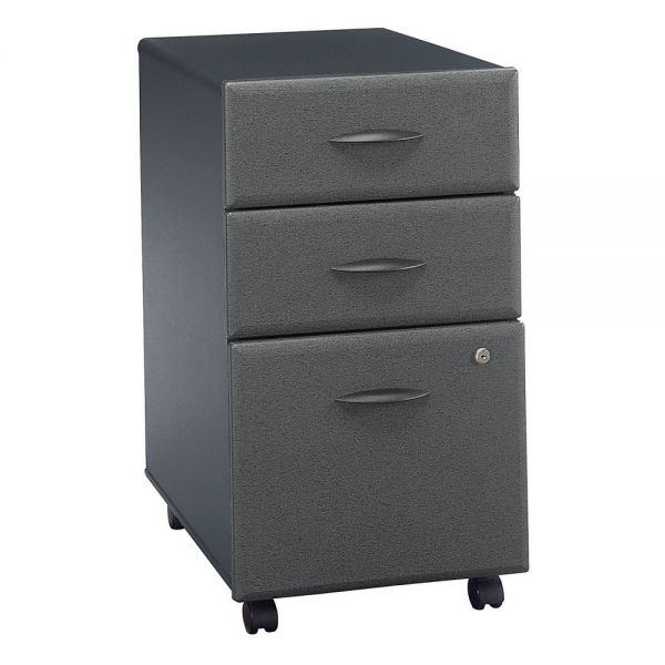 bbf Series A Three Drawer Pedestal by Bush Furniture