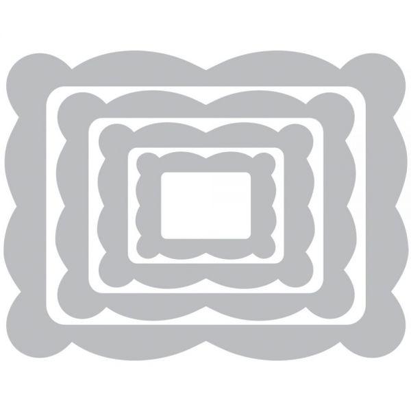 Sizzix Framelits Dies 4/Pkg