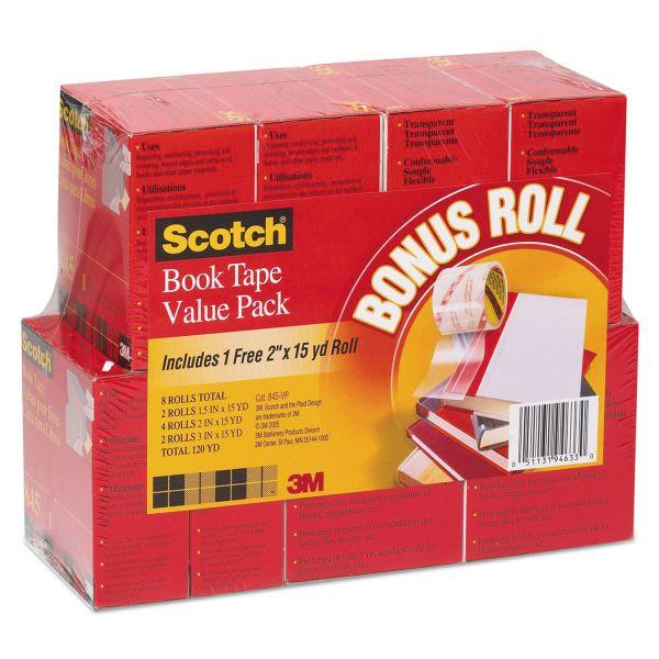 Scotch Book Repair Tape Multi-Pack