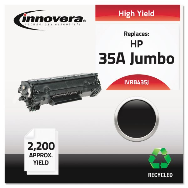Innovera Remanufactured HP 35A (CB435A(J) Toner Cartridge