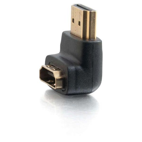 C2G HDMI Male to HDMI Female 90° Adapter