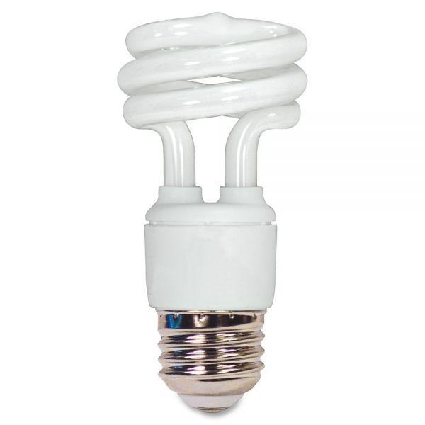 Satco T2 11-watt Mini Spiral CFL Bulb