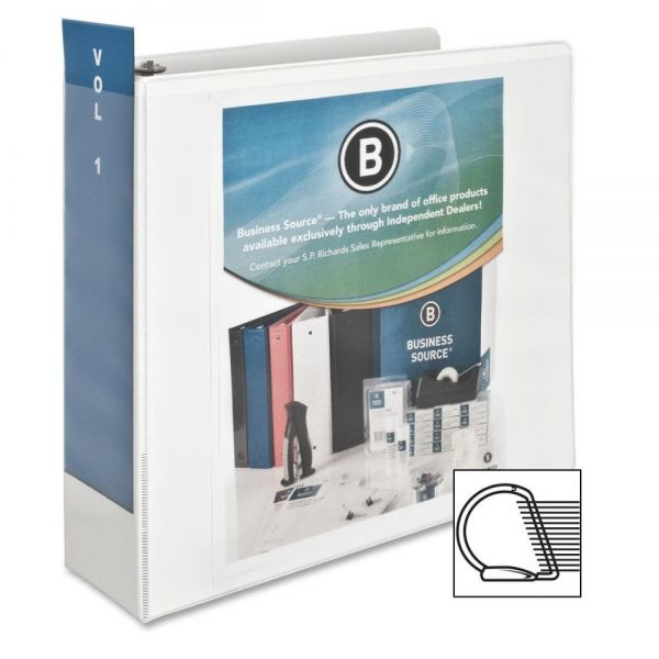 "Business Source 3"" 3-Ring View Binder"