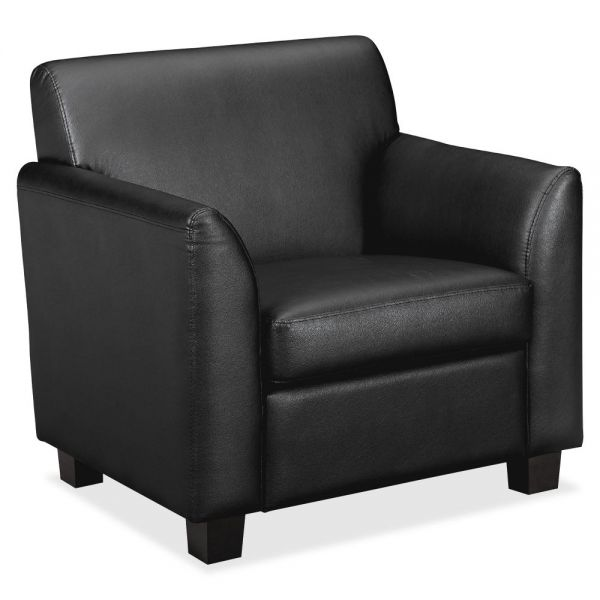 basyx by HON HVL871 Leather Club Chair