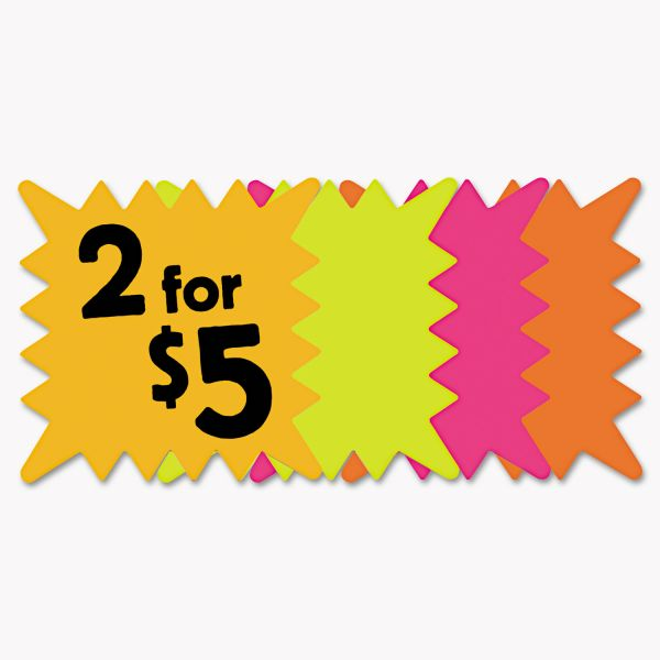 COSCO Square Die Cut Paper Signs