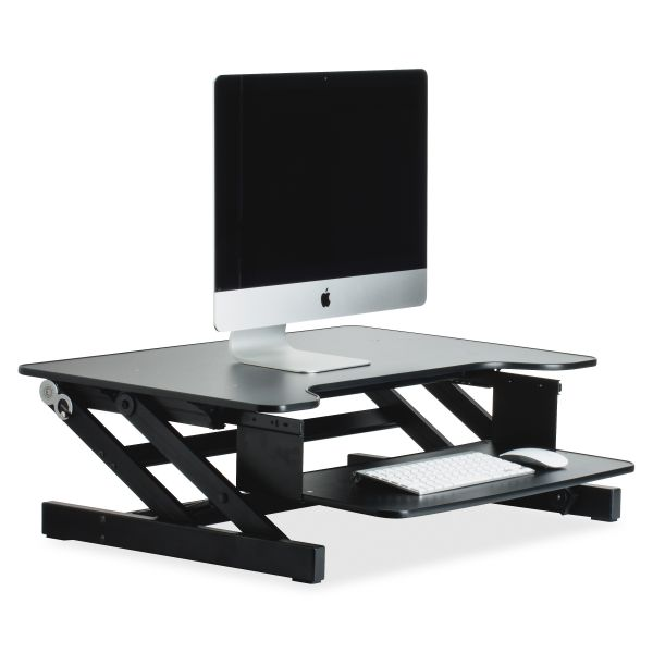 Sit-to-Stand Desk Riser, Black