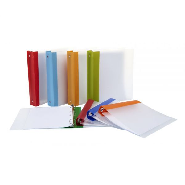"Storex Thicker Poly 1.5"" 3-Ring Binders"