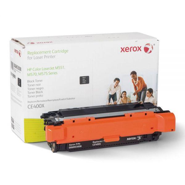 Xerox Remanufactured HP CE400X Toner Cartridge